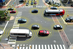 CAV intersection